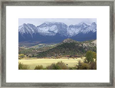 Winter's Coming Framed Print by Eric Glaser