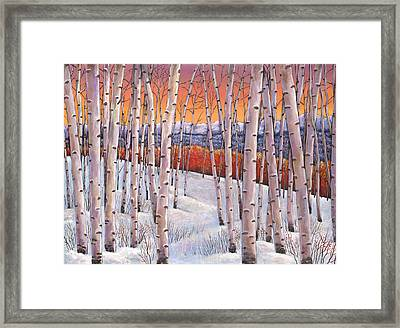 Winter's Dream Framed Print by Johnathan Harris