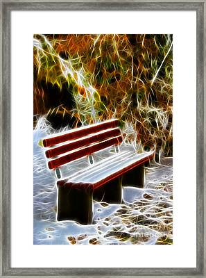 Winters Dream Framed Print