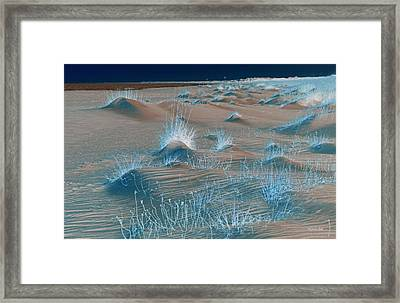 Winters Dunes IIi Framed Print by Suzanne Gaff