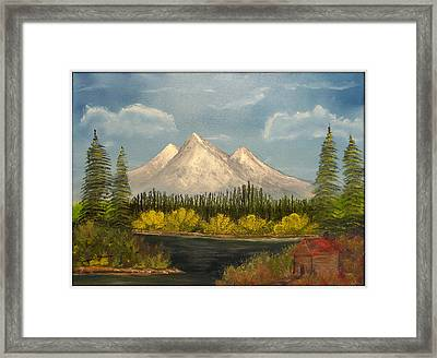 Winter's End Framed Print by Joyce Krenson