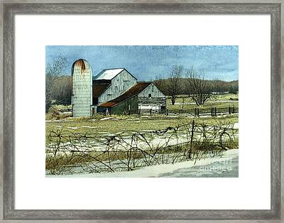 Winters End Prince Edward County Framed Print
