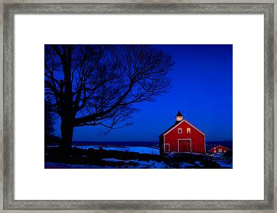 Winter's Eve Framed Print by Michael Petrizzo