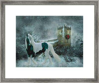 Winter's Hope Framed Print