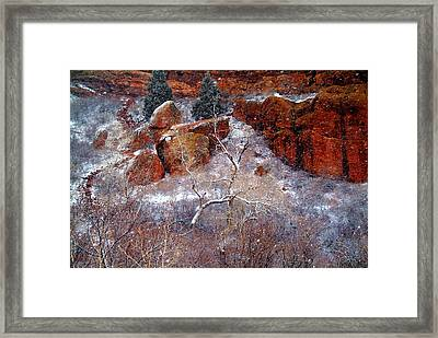 Winters Intrigue.. Framed Print by Al  Swasey