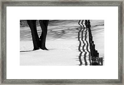 Winters Light Framed Print by Kenny Glotfelty