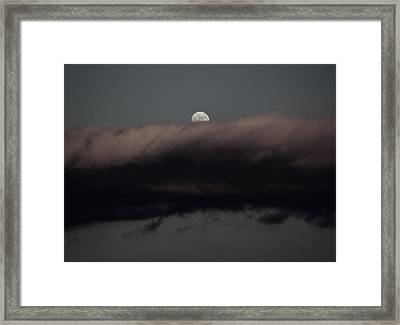 Winter's Moon Framed Print