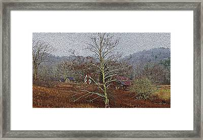 Winter's Sentinel V2 Framed Print