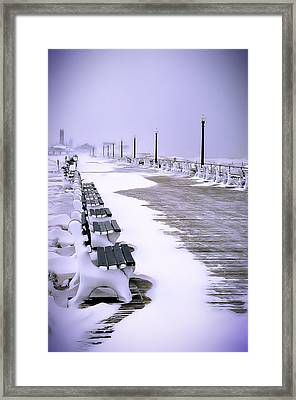 Winter's Silence Framed Print by William Walker
