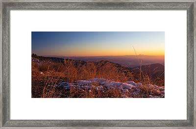 Winter's Splendor Framed Print by Heidi Smith