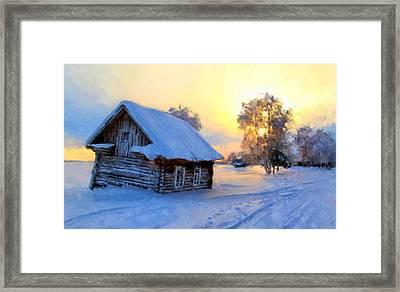 Winter's Tale Framed Print by Marina Likholat