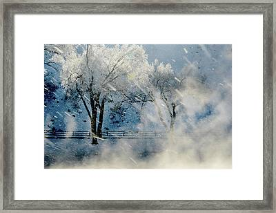 Winters Tapestry.. Framed Print by Al  Swasey