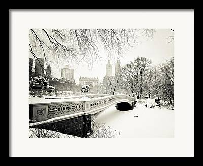 Winter Park Framed Prints