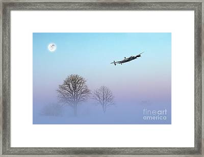 Winters Touch Framed Print by J Biggadike