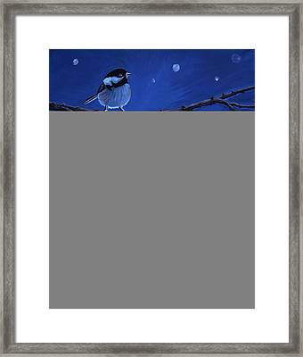 Winter's Treat Framed Print by Carol OMalley
