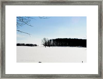 Winterscape 2  Framed Print by BandC  Photography