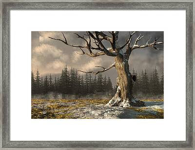 Winterscape Framed Print