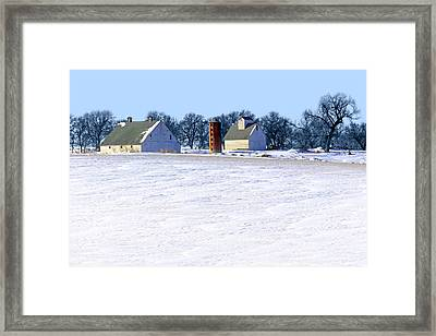 Winterscape Framed Print by Nikolyn McDonald