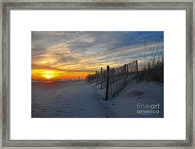Winterset Framed Print
