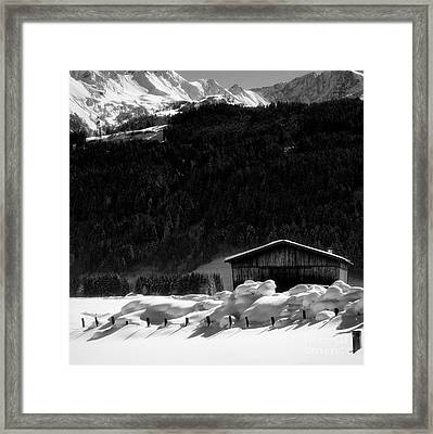 Wintertime Framed Print