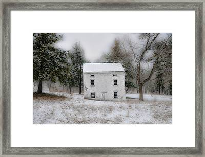Wintertime In Valley Forge Framed Print by Bill Cannon