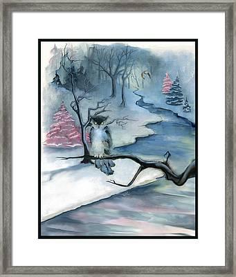 Winterwood Framed Print