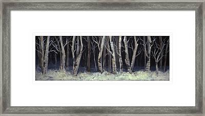 Winterwoods Framed Print