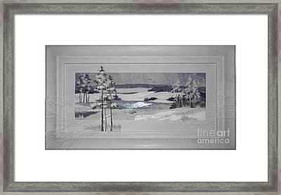 Wintry Dream Framed Print by Yakubouskaya Olga