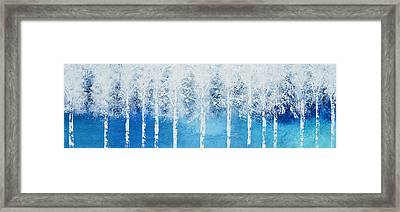 Wintry Mix Framed Print by Linda Bailey
