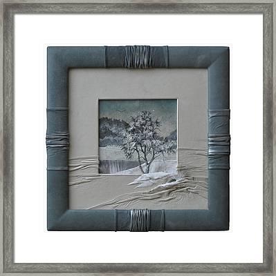 Wintry Morning Framed Print by Yakubouskaya Olga