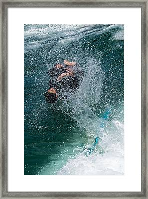 Wipe Out Framed Print by Classic Visions