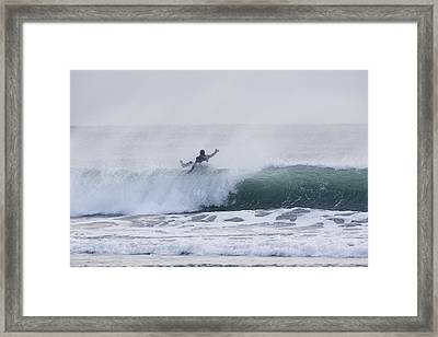 Wipe Out Framed Print by Tim Grams