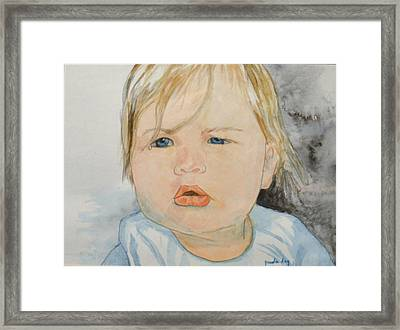 Wipe That Tear Framed Print