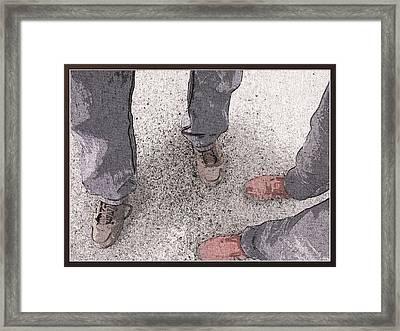 Wir Framed Print