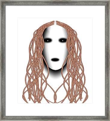 Wired Framed Print by Christopher Gaston