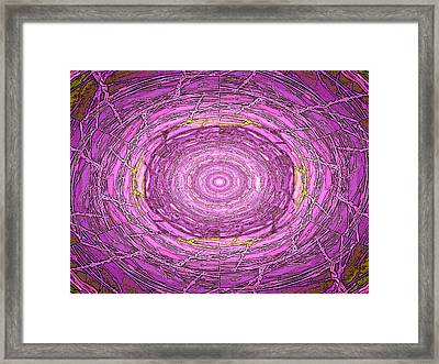 Wired Up Framed Print by Tim Allen
