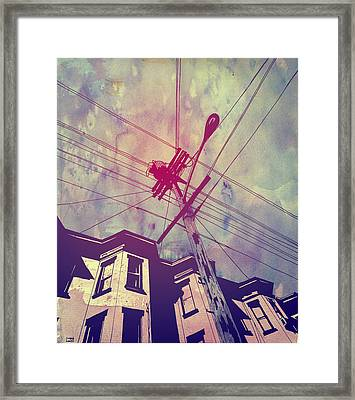 Wires Framed Print