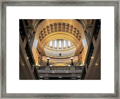 Wisconsin Architecture Framed Print