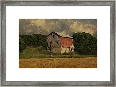 Wisconsin Barn Framed Print by Jack Zulli