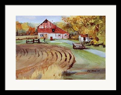 Outbuilding Framed Prints
