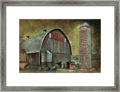 Wisconsin Barn - Series Framed Print