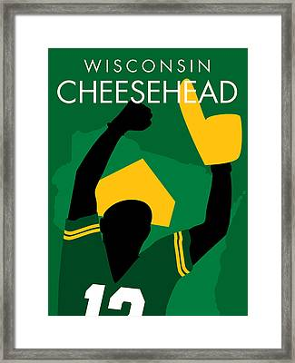 Wisconsin Cheesehead Framed Print