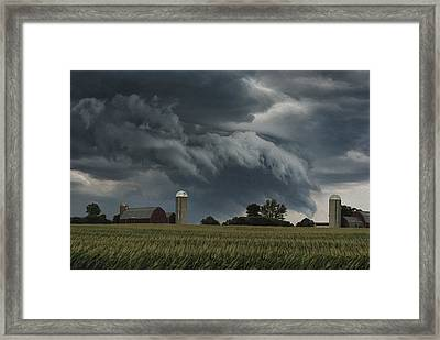 Wisconsin Farm Framed Print
