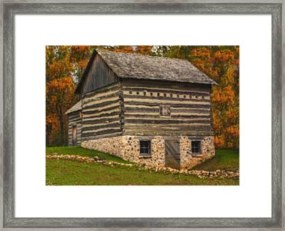 Wisconsin Homestead Framed Print by Jack Zulli