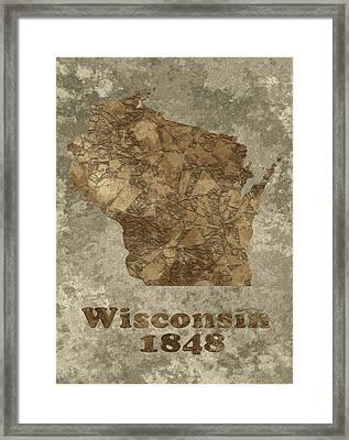 Wisconsin Framed Print by Jack Zulli