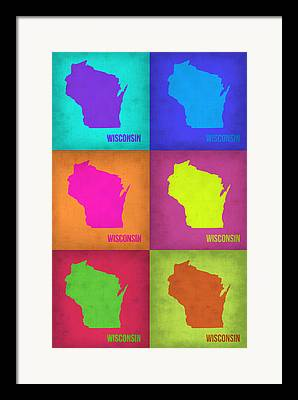 Wisconsin Art Framed Prints