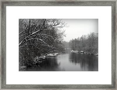 Wisconsin River Framed Print by Kay Novy