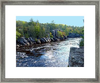 Wisconsin Shores 1 Framed Print by Will Borden