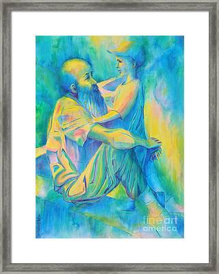 Wisdom And Innocence Framed Print