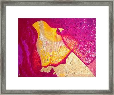 Wisdom And Love Framed Print